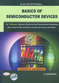 Basics Of Semiconductor Devices For 2 Sem Diploma In Electronics & Communication Engineering
