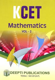 Mathematics Kcet Vol 2 : Study Material