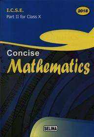 buy concise mathematics part 2 class 10 for 2019 icse book rk