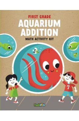 First Grade Aquarium Addition Math Activity Kit
