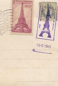 Paris Postcard Spiral Notebook (Spank Stationery)