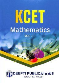Mathematics Kcet Vol 1 : Study Material