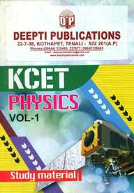 Physics Kcet Vol 1 : Study Material