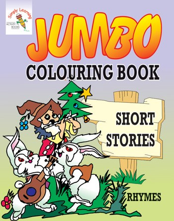Jumbo Colouring Book-Short Stories