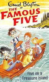 Famous Five On A Treasure Island 1