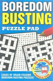Boredom Busting Puzzle Pad Blue