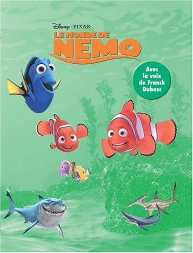 Buy Le Monde De Nemo Livre Cd French Edition Book Walt