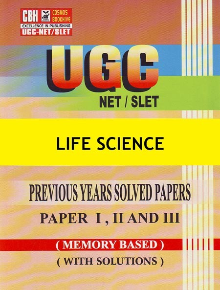 Life Science Previous Years Solved Papers for UGC-NET-SLET Paper-1-2-3