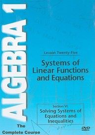Systems Of Linear Functions &: Mathematics