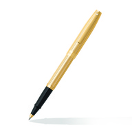 9474 Fluted Gold Rollerball Pen