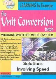 Unit Conversion Tutor: Solutions Involving Speed: Mathematics