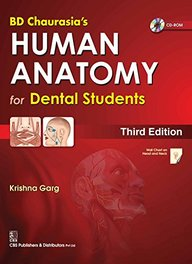 Chaurasias Human Anatomy For Dental Students W/Cd