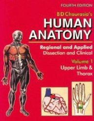 Human Anatomy: Regional & Applied (Dissection & Clinical) 4e (in 3 Vols.) Vol. 1: Upper Limb & Thorax With CD (v. 1)