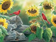 Sunflower Buffet-Puzzle