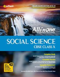 All In One Social Science Class 10 : Cbse Code F490