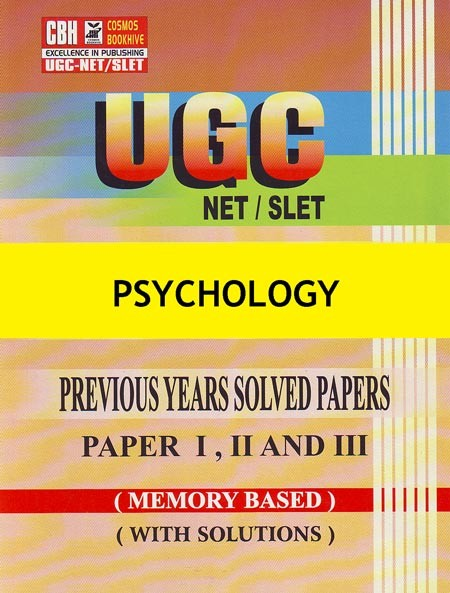 Psychology Previous Years Solved Papers for UGC-NET-SLET Paper-1-2-3