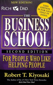 Rich Dads Business School For People Who Like Helping People W/Cd