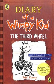 Diary Of A Wimpy Kid 07 : The Third Wheel