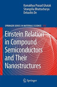 Einstein Relation In Compound Semiconductors And Their Nanostructures / Edition 1
