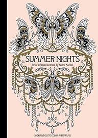 Summer Nights Artist's Edition: Published in Sweden As Sommarnatt (Gsp- Trade)