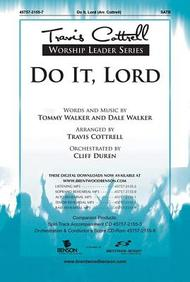 Do It, Lord- SATB
