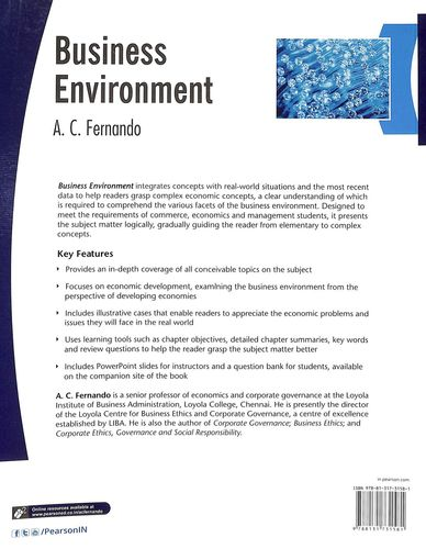 Buy Business Environment book : Ac Fernando, 8131731588