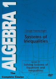 Systems Of Inequalities: Mathematics