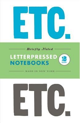Briefly Noted: Two Letterpressed Notebooks