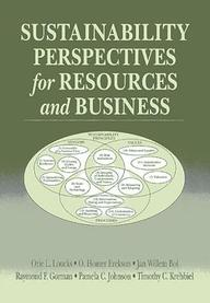 Sustainability Perspectives For Resources And Business