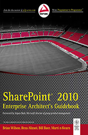 Sharepoint 2010 Enterprise Architects Guidebook