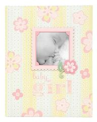 C.R. Gibson Bound Keepsake Memory Book of Baby's First 5 Years, Lulu