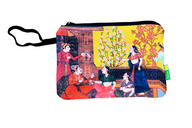 Eco Corner Big Indian Art Balcony Cotton Pouch
