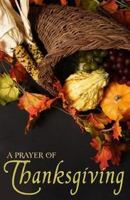 Prayer for Thanksgiving: 25- Pack Tracts
