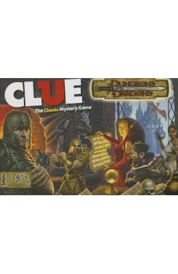 Clue: Dungeons & Dragons: The Classic Mystery Game [With Dice and 6 Collectible Suspect Tokens, 6 Custom Weapons and Gameboard]