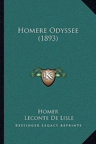 Homere Odyssee (1893)