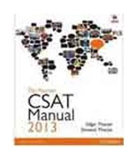 Pearson CSAT Manual 2013: Civil Services Aptitude Test for the UPSC Civil Services Preliminary Examination