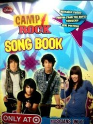 Camp Rock Song Book Musicians Only