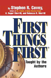 First Things First Audio Book 3cds