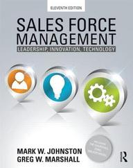 Sales Force Management: 11th edition