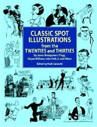 Classic Spot Illustrations From The Twenties And Thirties (Dover Pictorial Archives)