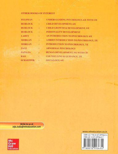 Buy Developmental Psychology A Life Span Approach Book Elizabeth B Hurlock 0070993637 9780070993631 Sapnaonline Com India
