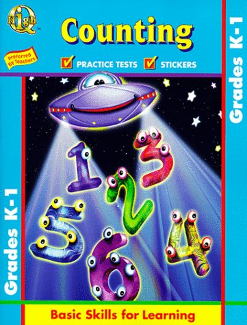 Counting: Grade K-1 With Sticker (high Q Workbook Series)