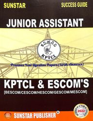 Sunstar Success Guide Kptcl & Escom'S : Assistant / Junior Assistant