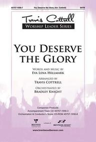 You Deserve the Glory Split Track Accompaniment CD