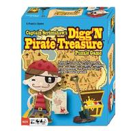 Captain Scrimshaw's Digg'n Pirate Treasure- Puzzle Game