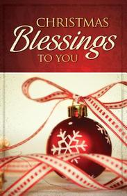 Christmas Blessings to You: 25- Pack Tracts