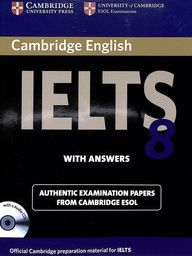 Ielts 8 Examination Papers With Answers Cambridge Esol W/Cd