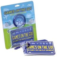 Games on the Go- Portable Travel Games: 50 Games You Can Play Anywhere