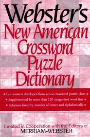 Webster*s New American Crossword Puzzle Dictionary