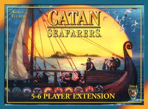 Family Board Games Settlers Of Catan - Seafarers 5/6 Player Extension